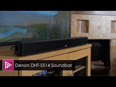 Denon DHT S514 Soundbar & Subwoofer Review