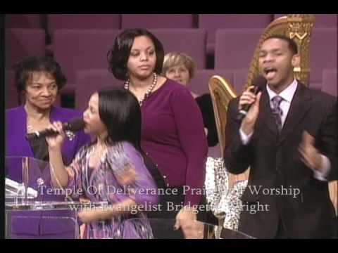 Evangelist Bridgette Wright  Praise And Worship At Tod video