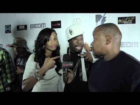 KD AUBERT AKA KD ROSE AND RAMPAGE ON THE RED CARPET