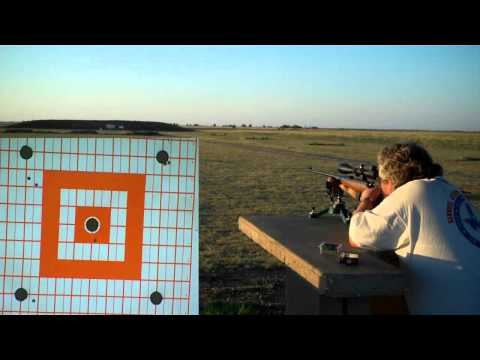 CZ-452 22lr on the155Millimeter Dime Challenge at 100 Yards with Wolf Match Subsonic