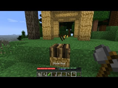 Minecraft TerraFirmaCraft #1: Challenging Minecraft Survival