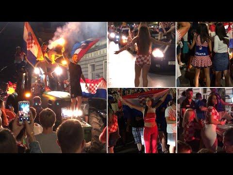 Croatia vs England, Fans Reaction & Celebration (Russia 2018) thumbnail
