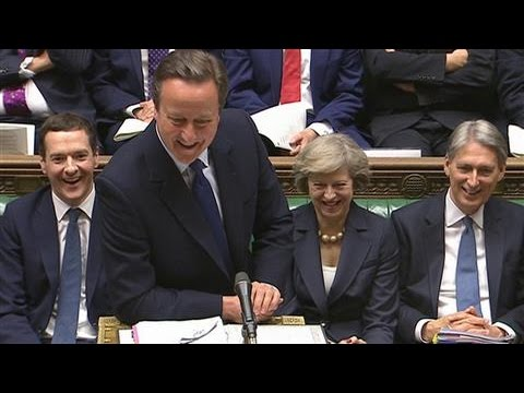 David Cameron's Last Laugh as U.K. Prime Minister