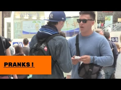 DRUG DEALER PRANK !!! LONDON , POLICE GET OWNED !!!