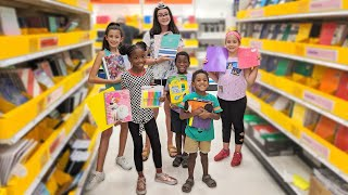 Back to School Supply Shopping with 6 Kids!!