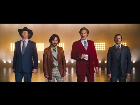 Anchorman 2 Official Trailer...