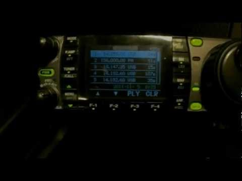 Ham Radio  icom 7000 2E0GTB talking DX