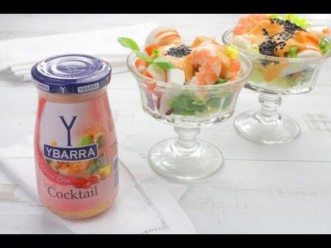 Cocktail de Marisco con Salsa Cocktail Ybarra