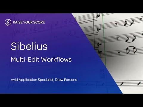 Sibelius: Multi-Edit Workflows