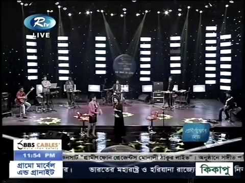 r Live Musical Concert  in Bangladesh 2015 with Nusraat Faria  PART  2{ON air rtv}