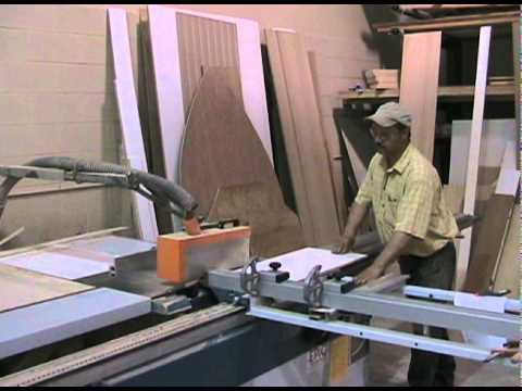 DIY Sliding Table Panel Saw  How To Save Money And Do It Yourself!