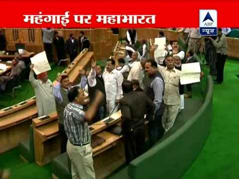 Pandemonium in Jammu and Kashmir Assembly over LPG cap