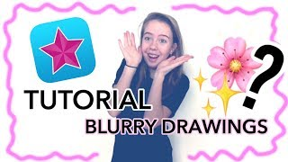 Video Star Tutorial - Blurry Drawing / Scribble Effect