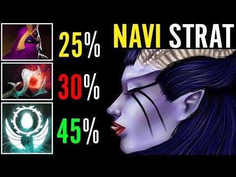 Navi Dendi Magic Damage Tactic Navi is Back? Dota 2 QoP Gameplay