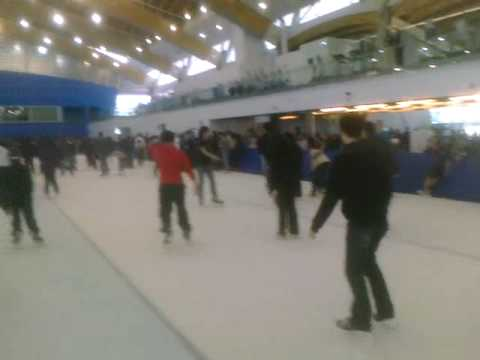 Last day Richmond oval ice