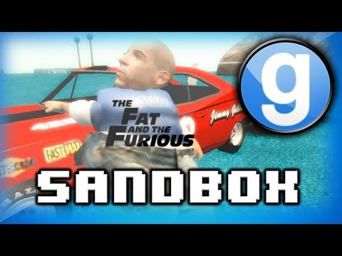 Garry's Mod Sandbox Funny Moments 3 - Dragon Ball Z, Fat Vin Diesel, And The Funniest Clip Ever! video