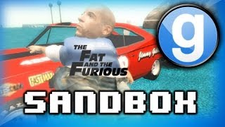 Garry's Mod Sandbox Funny Moments 3 - Dragon Ball Z, Fat Vin Diesel, and The Funniest Clip Ever!