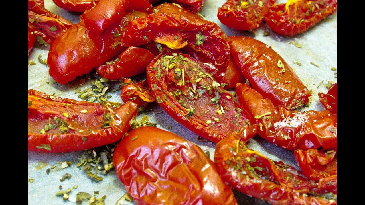 Вяленые помидоры как приготовить в духовке
