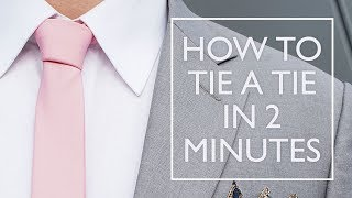 How to tie a half windsor knot | Step by Step