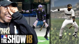 SEEING MY ANIMATIONS FOR THE 1ST TIME IN GAME! MLB The Show 18 Road To The Show Gameplay Ep. 1