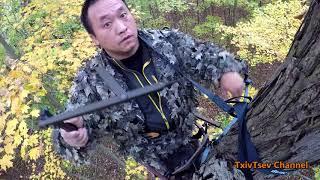 Wisconsin Bow Hunting - Self Filmed - Txiv Tsev Hmoob Mekas Yos Hav Zoov