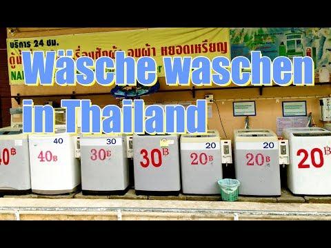Die Wäsche selber waschen in Thailand