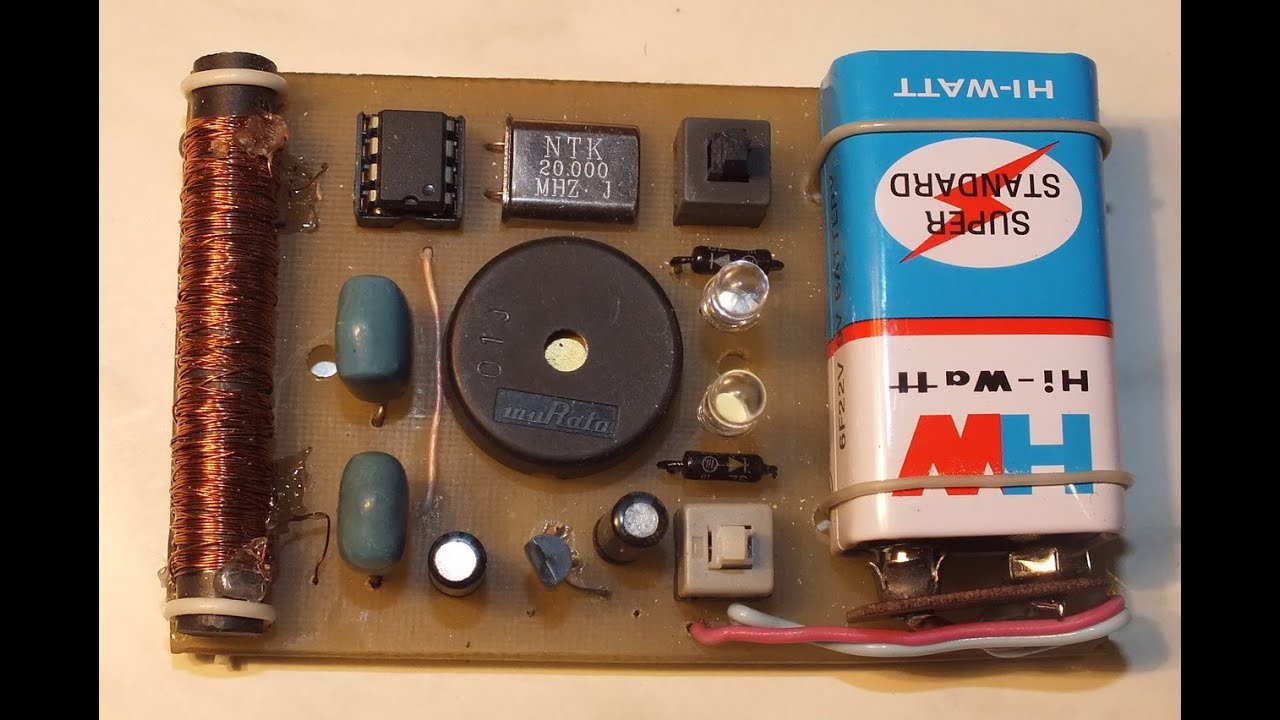Как сделать металлоискатель просто в домашних условиях