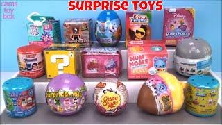 Opening Surprise Toys Num Noms PJ MASKS SpongeBob Minecraft Nintendo Shopkins Trolls Kids Fun Toy