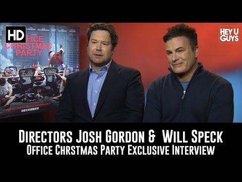 Directors Will Speck & Josh Gordon - Office Christmas Party