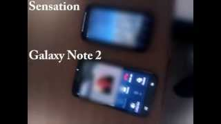 Broken proximity sensor Samsung Galaxy Note 2 vs HTC Sensation
