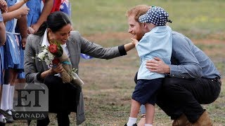 Boy Steals Harry & Meghan's Hearts On Australian Royal Tour
