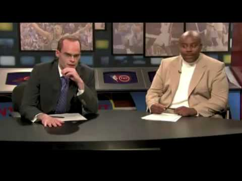 227's YouTube Charles Barkley-SNL-NBA's EJ and Charles Get Chili' Spoofed! 5-16-09 - NBA Spicy'
