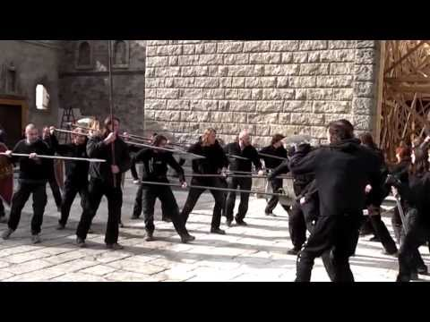 A.R.G.O. PROFILM: sword fight stunts - project Borgia 1. and 2. season