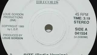 Bite (Louie Gordon) 1989 Hot Records Atlanta GA Electro Rap Minimal Synth