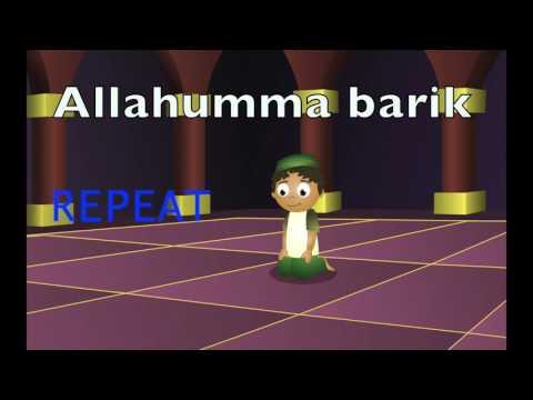 Learn Durood Shareef for Salah For Kids/Beginners (Last Qa'da)