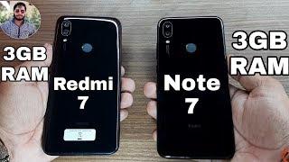 Redmi 7 vs Redmi Note 7 Speed Test Comparison?