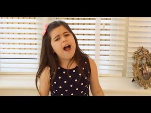 Sophia Grace sings