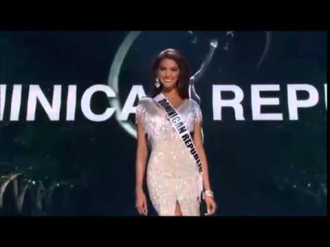 Kimberly Castillo Miss Republica Dominicana en la preliminar de Miss Universo 2014