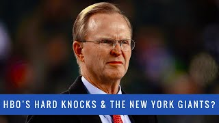 Will The New York Giants Appear On HBO's Hard Knocks? HBO's Hard Knocks 2019