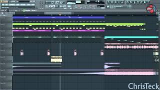 Как сделать дроп в fl studio