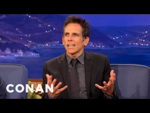 Ben Stiller Recently Came Out As A Miserable Vegan - CONAN on TBS