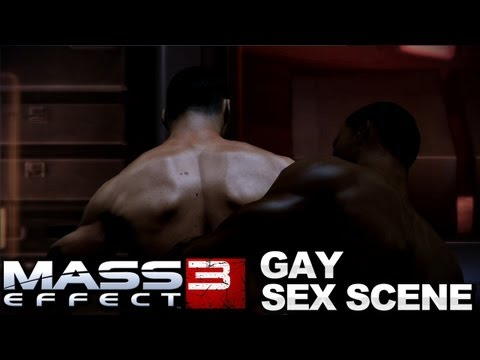 Mass Effect 3 - Cortex Gay Relationship Sex Scene video