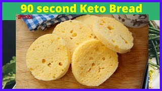 The Best Keto Bread you have ever tried...in 90 seconds