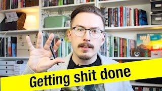 Top 8 developer habits: Getting shit done - Fun Fun Function