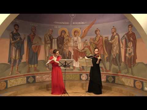Буамортье, Жозеф Бодэн де - 6 сонат для флейты и скрипки