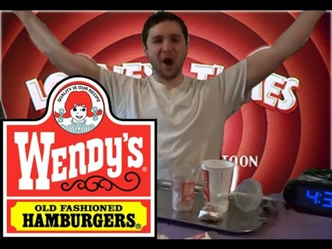 Wendy s Value Menu Challenge Ep. 4 (Food Challenges Ep. 1) - Elviscooks1980