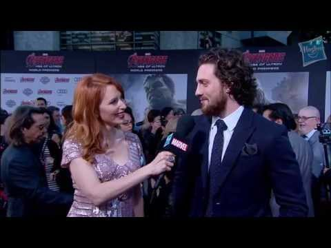 Aaron Taylor-Johnson at Marvel's Avengers: Age of Ultron Red Carpet Premiere