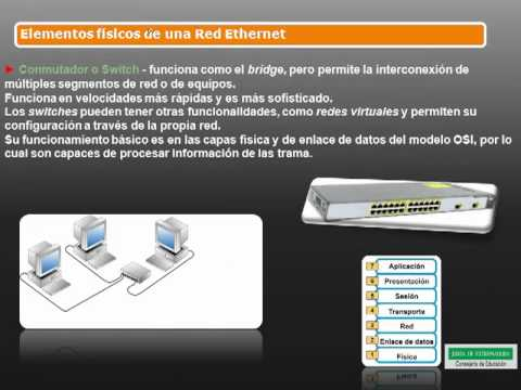 Redes Ethernet. Elementos de una red Ethernet.