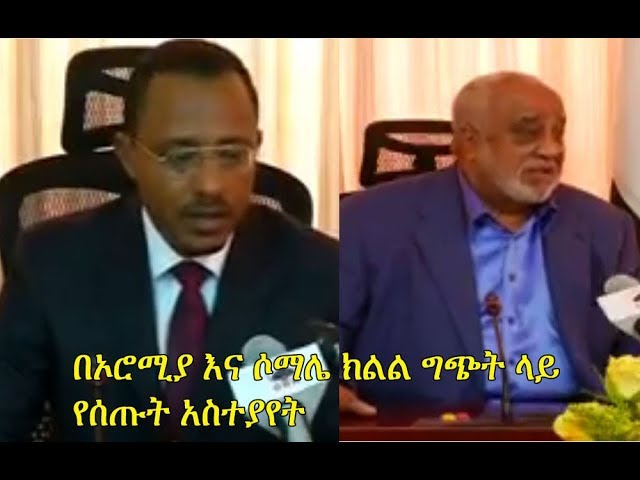 Ethiopia: Lema Megersa and Alamoudi speaks on recent Oromia - Somali clashes