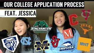SHE GOT ACCEPTED INTO JOHNS HOPKINS '22 || Our College Application Process 2017